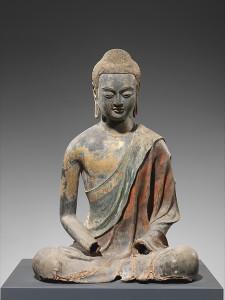 Buddha, Probably Amitabha (Amituofo), early 7th century, China. © The Metropolitan Museum of Art
