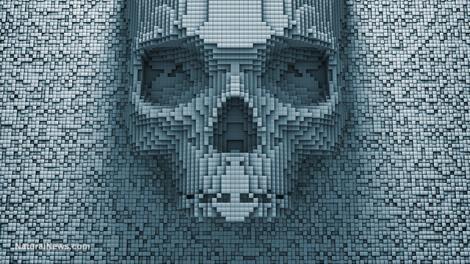 digital-skull-evil-danger